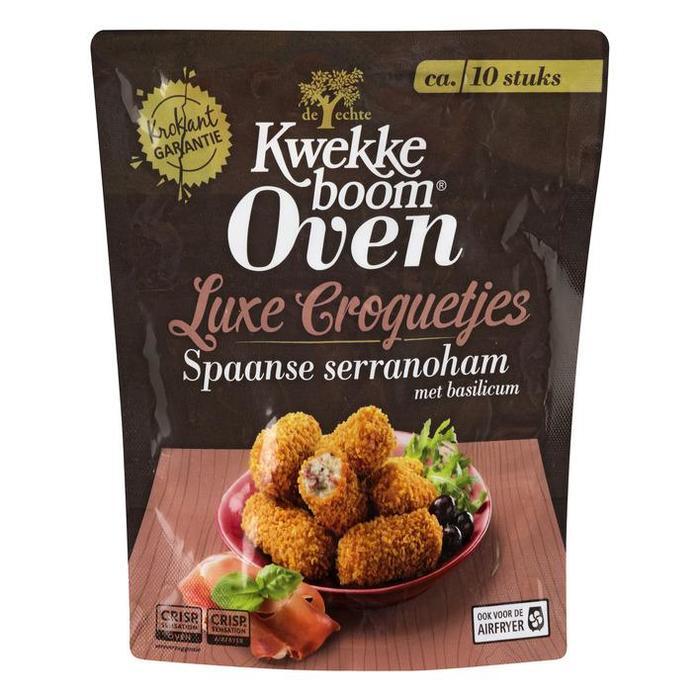 Kwekkeboom Oven luxe croquetes Spaanse serranoham (270g)