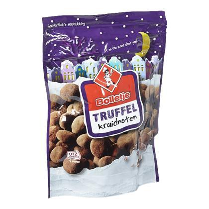 Truffel Kruidnoten (zak, 215g)
