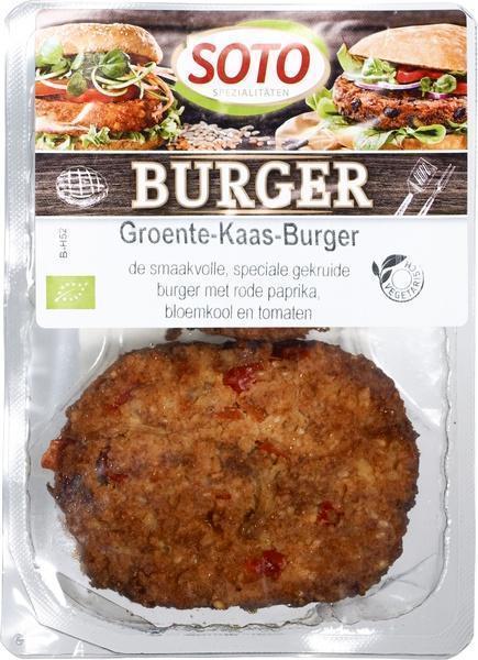 Groente-Kaas-Burger (bak, 200g)
