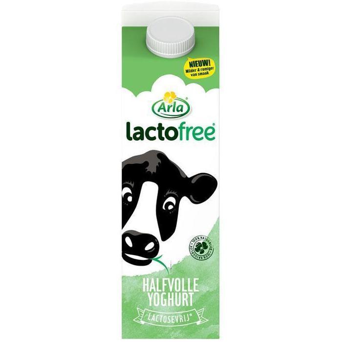 Lactofree Halfvolle Yoghurt (pak, 1L)
