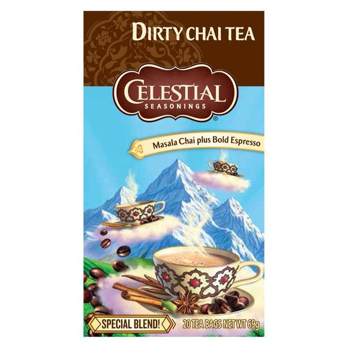 Celestial Seasonings Dirty chai tea 1-kops (20 × 69g)