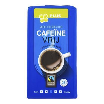 Koffie Snelfilter Cafeïnevrij (500g)