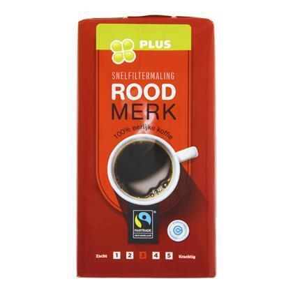 Koffie Snelfilter Roodmerk (500g)