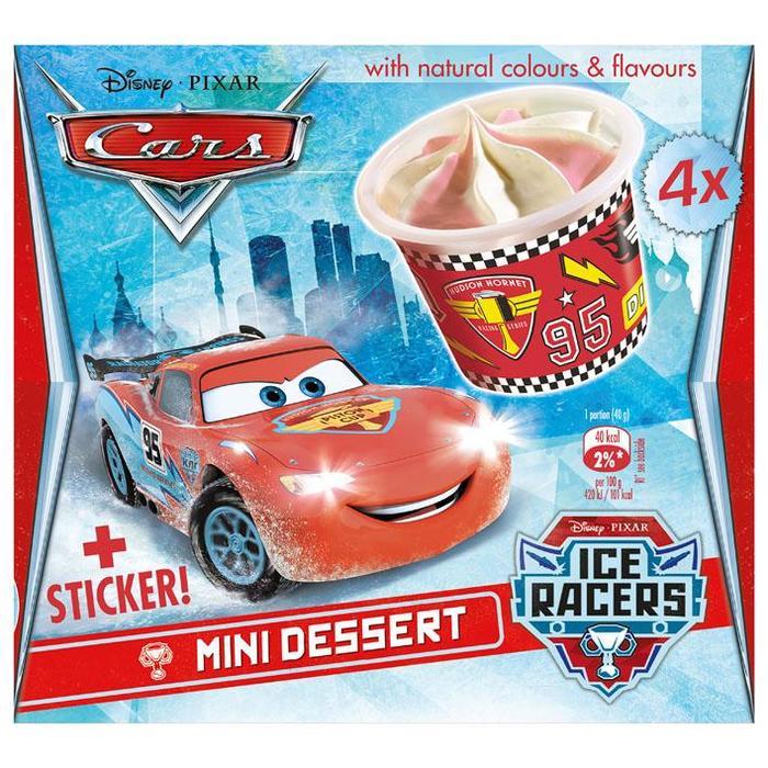 Disney Cars mini desserts (4 × 32cl)