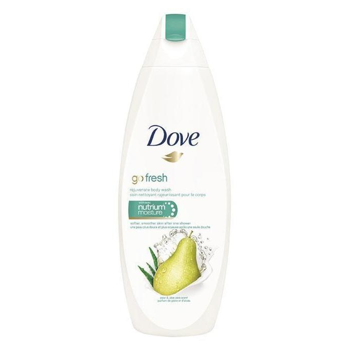 Dove Go fresh showergel pear aloe vera (0.5L)