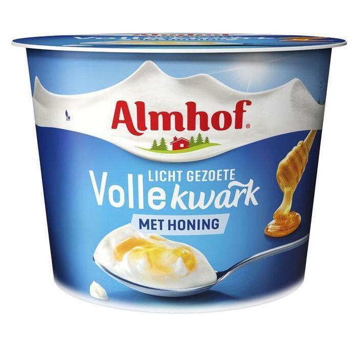 Almhof Volle kwark naturel met honing (500g)