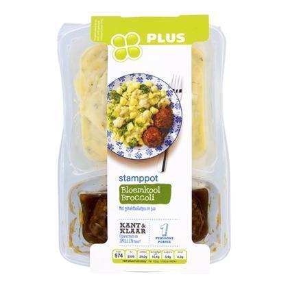 Stamppot bloemkool broccoli (500g)