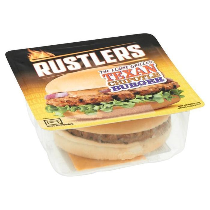 Rustlers The Flame Grilled Texan Chipotle Burger 152g (152g)