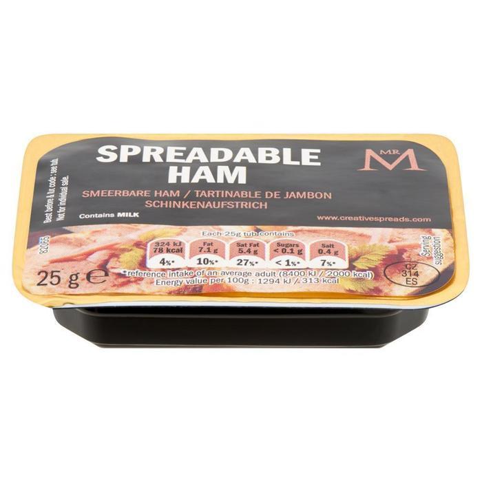 Mr M Smeerbare Ham 60 x 25 g (25g)