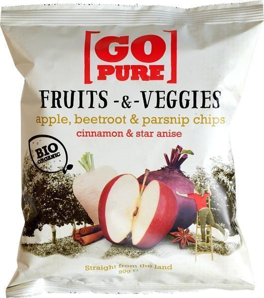 Fruits & Veggies chips cinnamon-anise (90g)