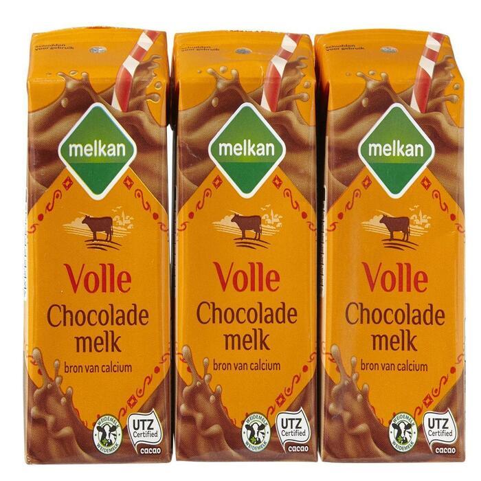 Volle chocolademelk (pakjes, 6 × 1.2L)