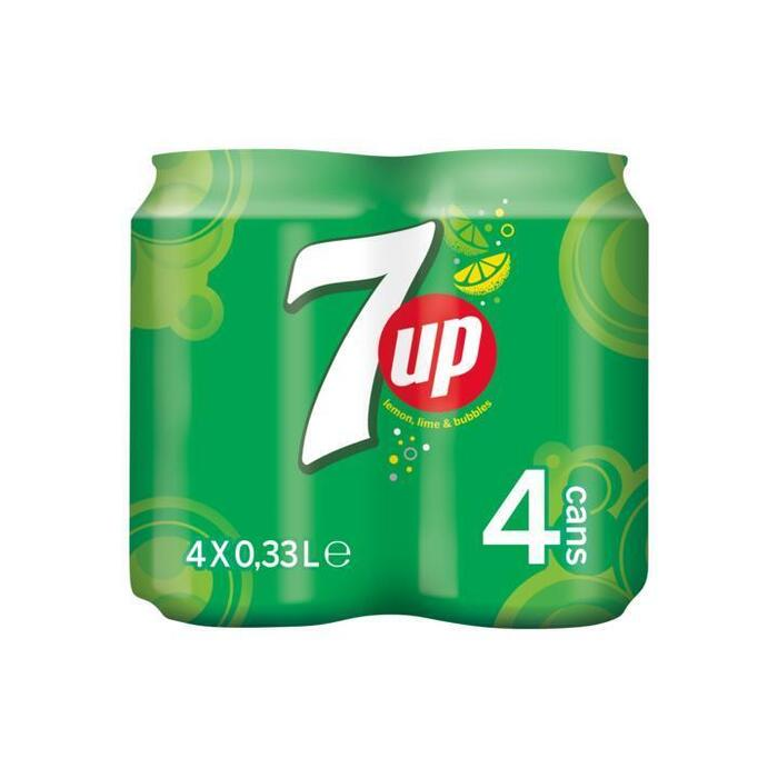Seven-Up (rol, 4 × 33cl)