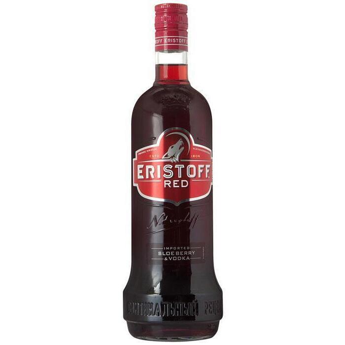 Eristoff Red (rol, 100 × 1L)