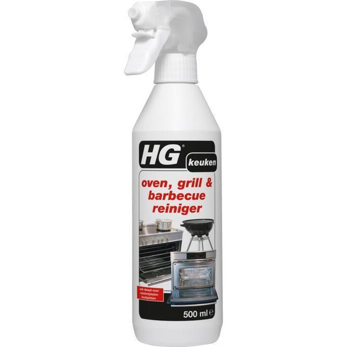 Oven, grill & barbecuereiniger spray (0.5L)