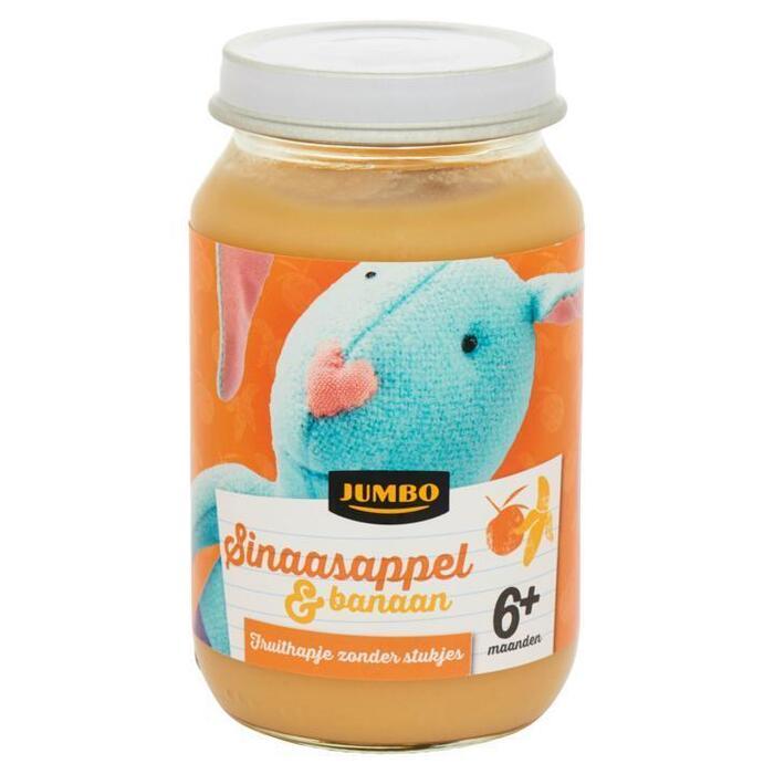 Jumbo Sinaasappel & Banaan 6+ Maanden 200g (200g)