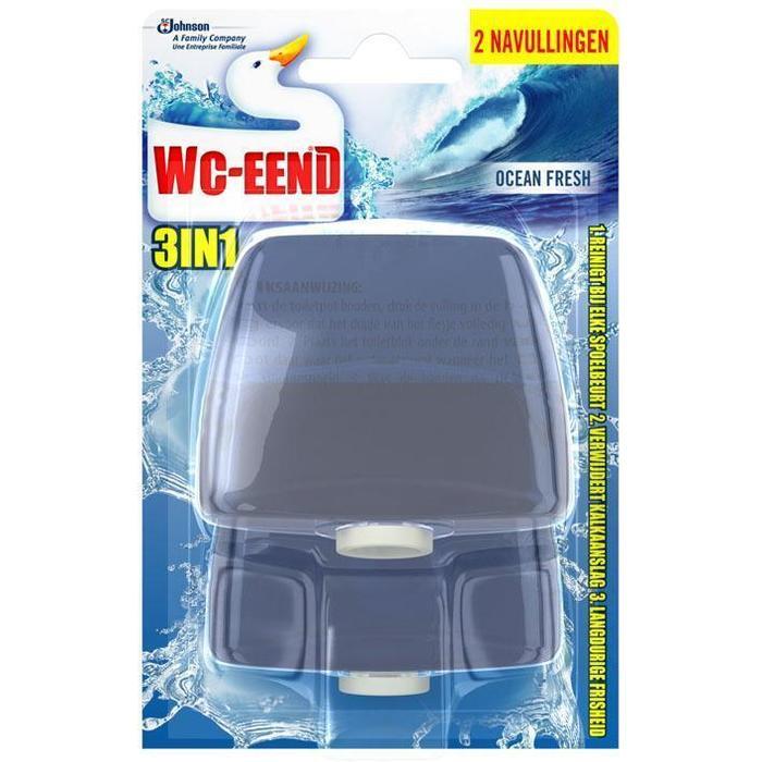 WC Eend Ocean fresh 3-in-1 navulling (2 × 110ml)