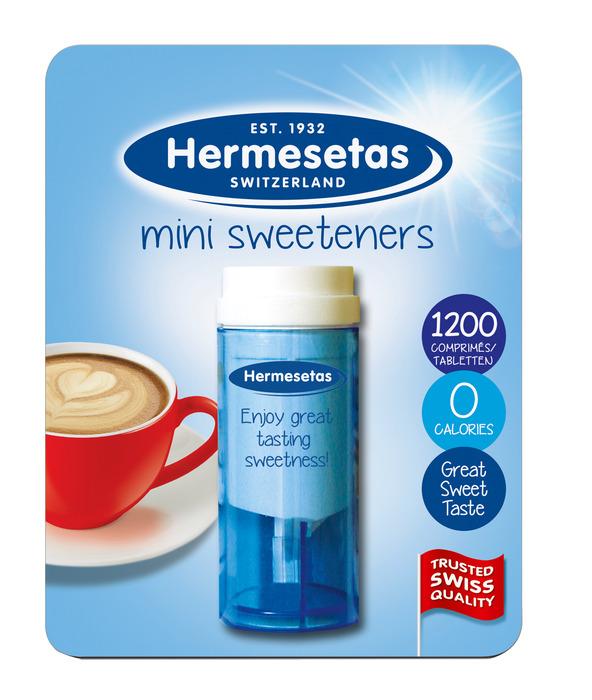 Hermesetas Mini Sweeteners 1200 Tabletten 14, 2g (1200 × 14.2g)