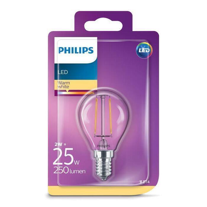 Philips Led kogel e14 25w