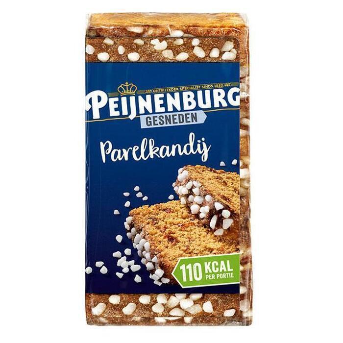 Peijnenburg Ontbijtkoek Parelkandij Gesneden (320g)