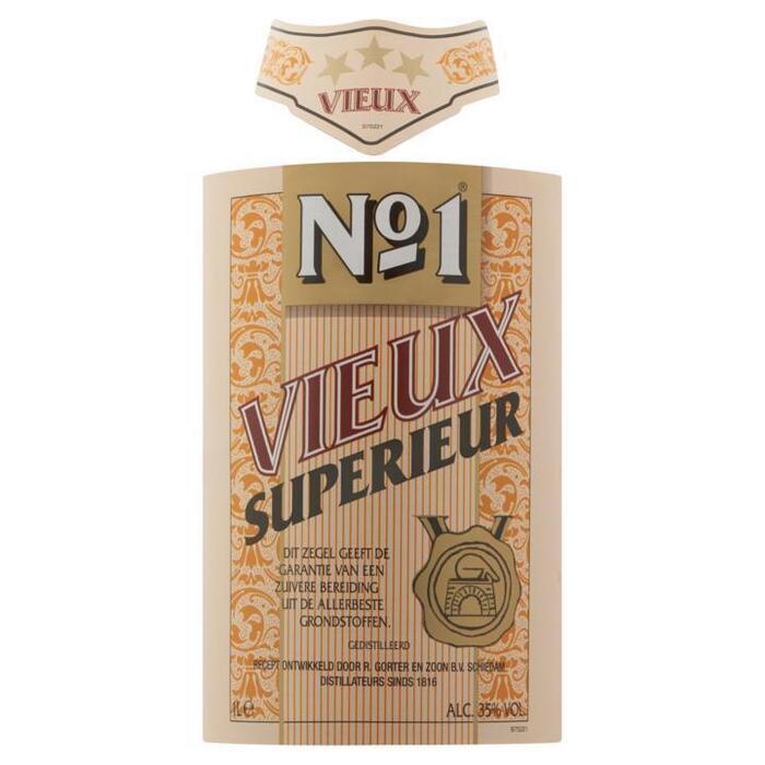 NO.1 VIEUX 35% 100 CL. FLES (1L)