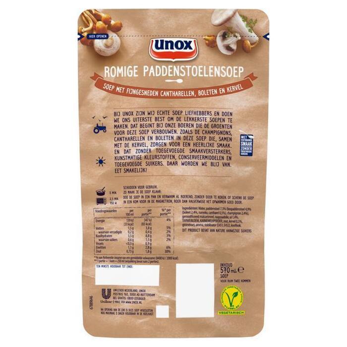 Soep In Zak Bospaddenstoelensoep (0.57L)