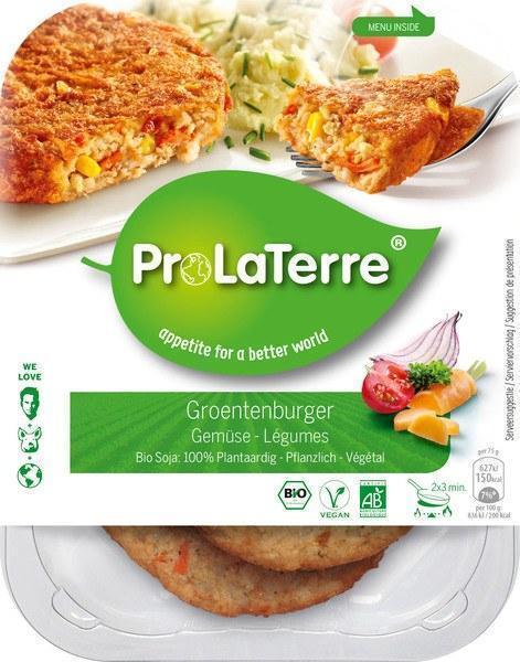 Groenteburger (bak, 150g)