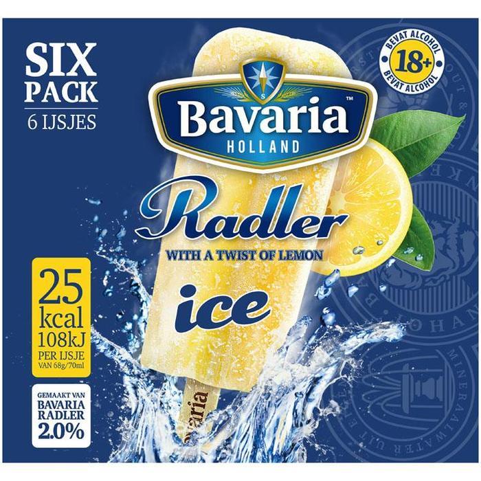 Bavaria Radler ice lemon 2.0% (6 × 42cl)