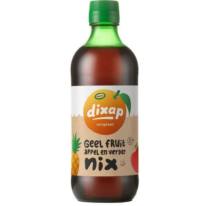 Covelt Dixap geel fruit (0.5L)