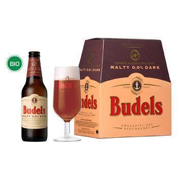Budels Malty Dark 0,0% 6x30cl. (6 × 33cl)