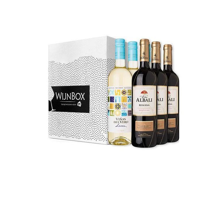 De lekker lang tafelen wijnbox (6 × 4.5L)