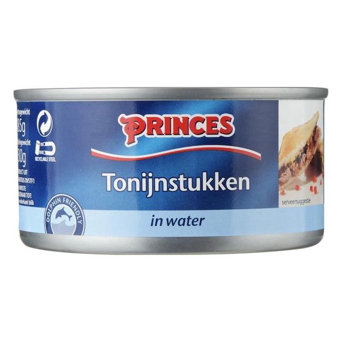 Tonijnstukken In Water  185Gr (blik, 185g)