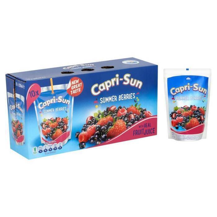 Capri-Sun Summer Berries 10 x 200ml (10 × 200ml)