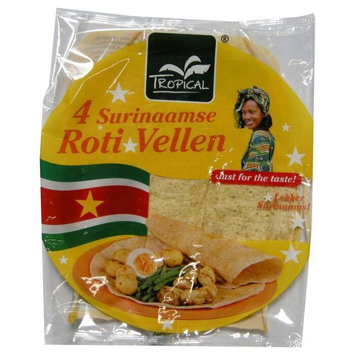 Tropical Surinaamse rotivellen (Stuk, 4 × 250g)