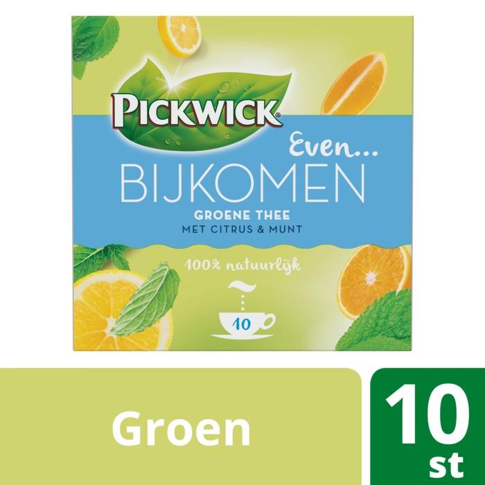 Even Bijkomen groene thee (Stuk, 10 × 15g)