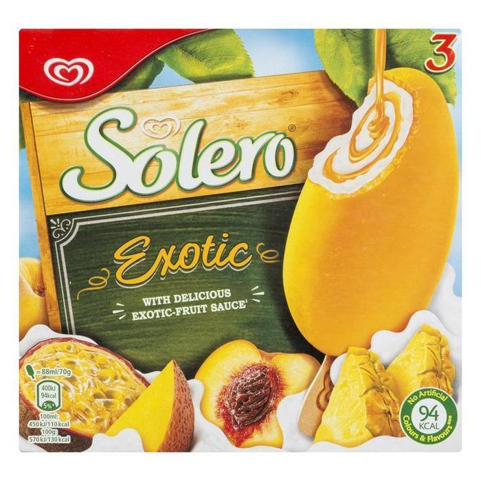 Solero Exotic (3 × 264ml)