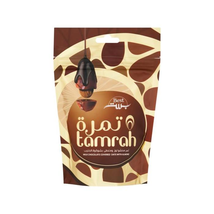 Best Milk Chocolate Covered Date with Almond 100g (100g)
