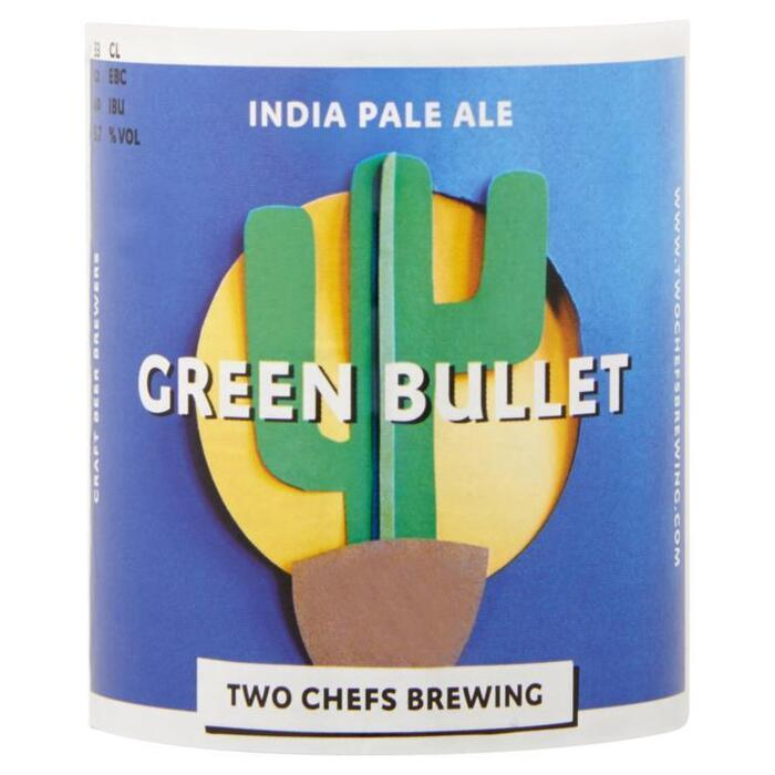 Two Chefs Brewing Green Bullet 33cl (rol, 33 × 33cl)