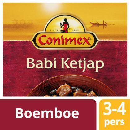 Boemboe babi ketjap (kuipje, 95g)