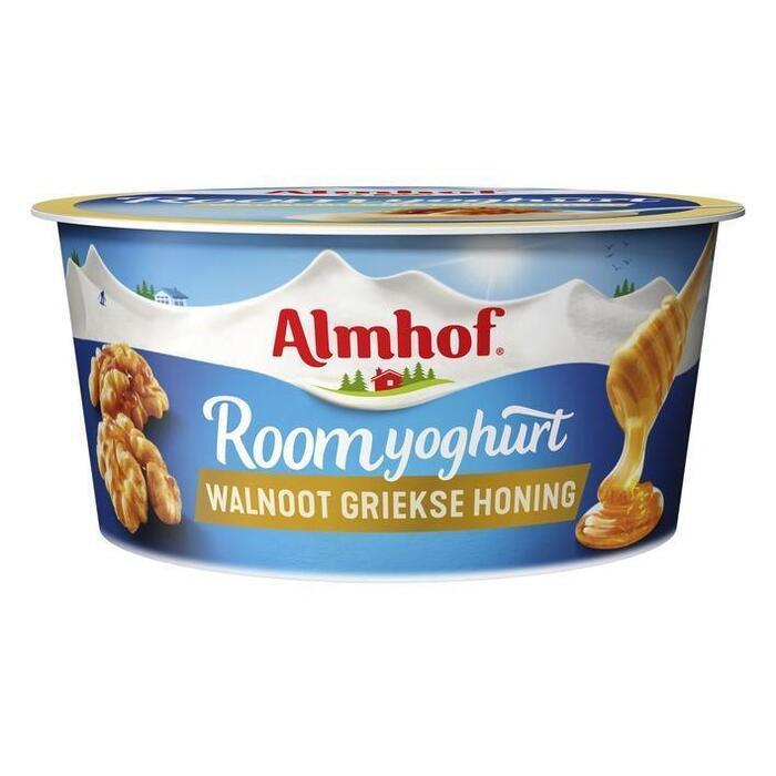 Roomyoghurt walnoot Griekse honing (bak, 150g)