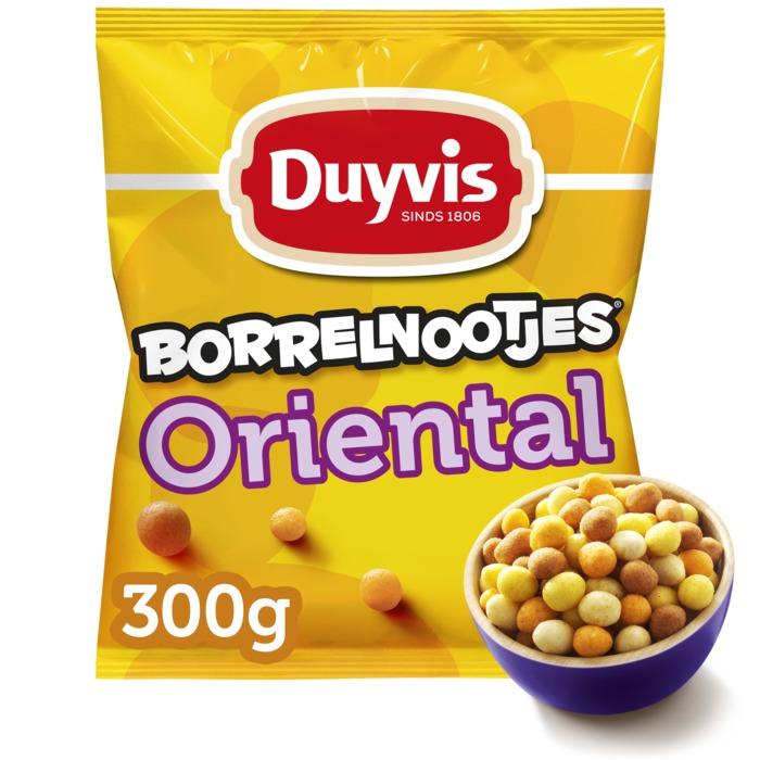 Borrelnootjes Oriëntal grootverpakking (300g)