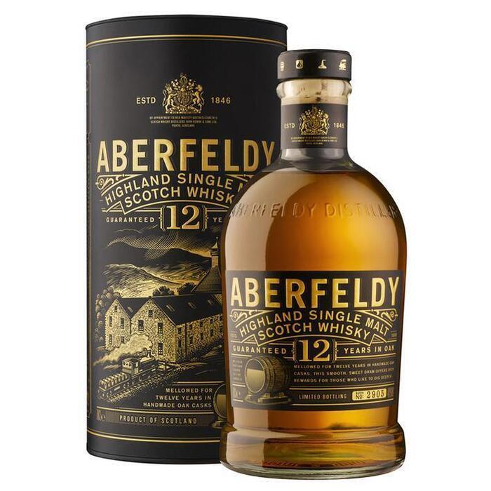 Aberfeldy 12 years (rol, 70 × 0.7L)