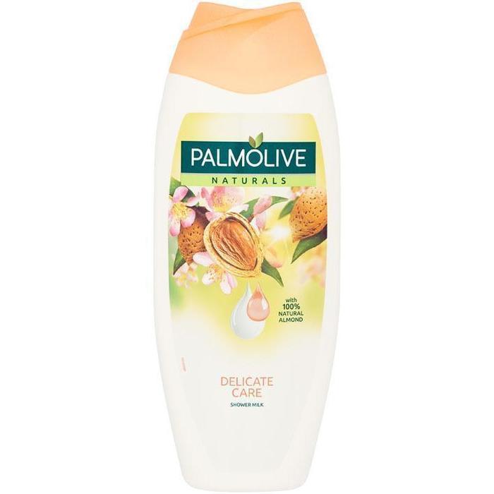 Palmolive Naturals amandel bad- & douchemelk (0.5L)