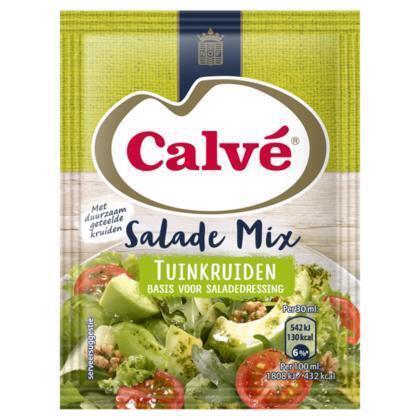 Calve Salademix Tuinkruiden 3x10G 12x (30g)