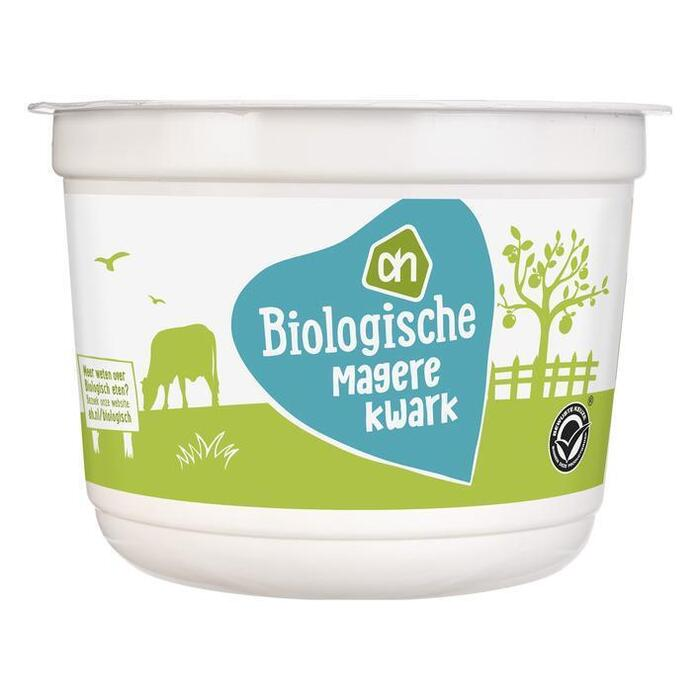 AH Biologisch Magere kwark naturel (500g)