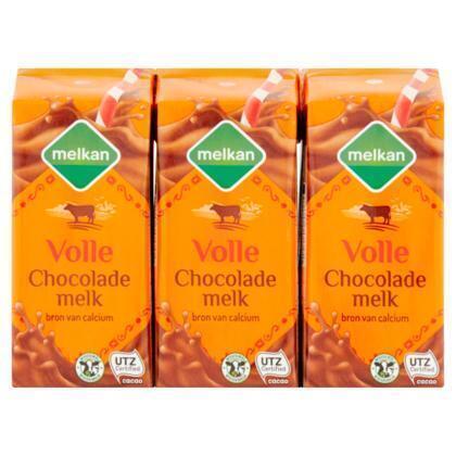 Volle chocolademelk (drinkpak, 1.2ml)