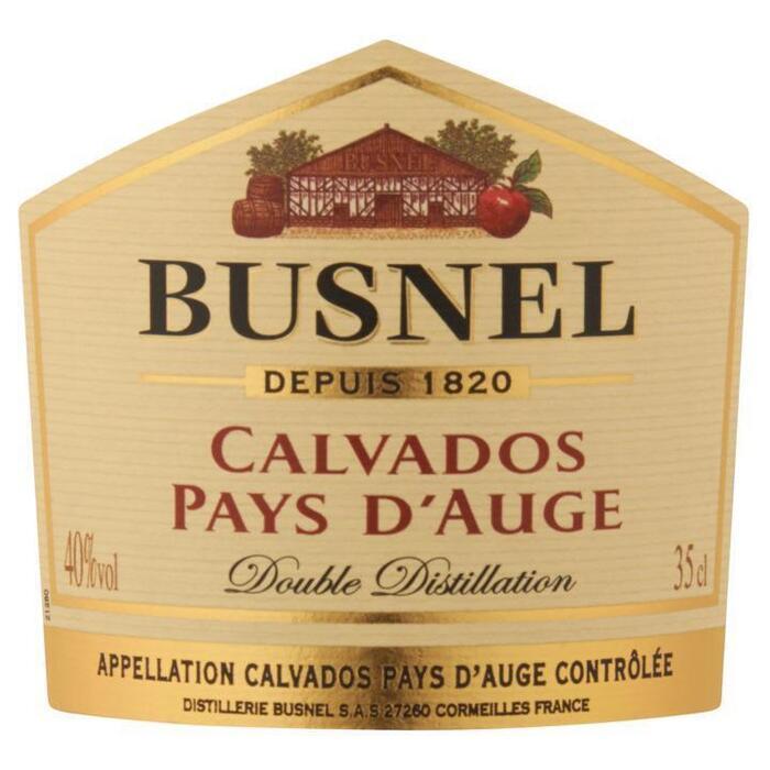 Busnel Calvados Pays d'Auge 35 cl (rol, 35 × 35cl)