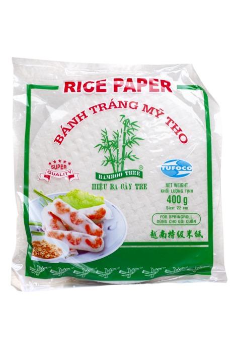 Bamboo Tree rijstpapier zak 400 g (400g)