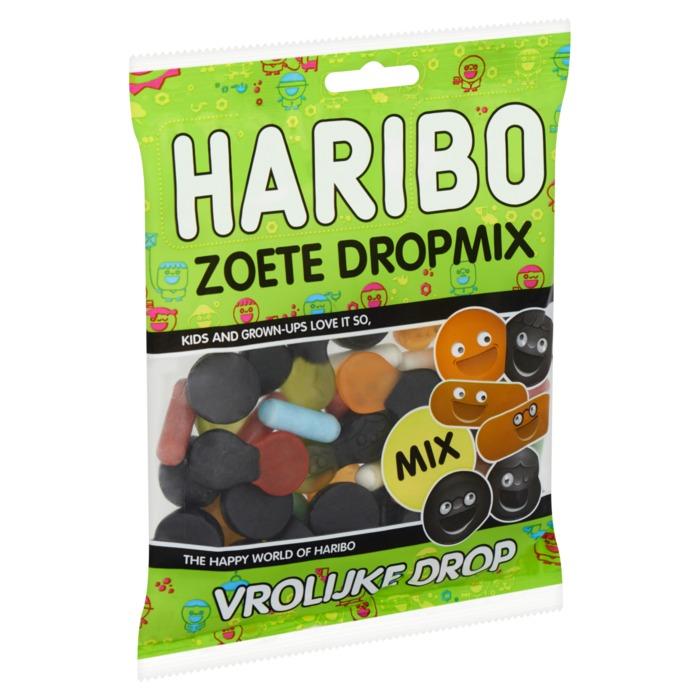 Haribo Zoete Dropmix Vrolijke Drop 175 g (175g)