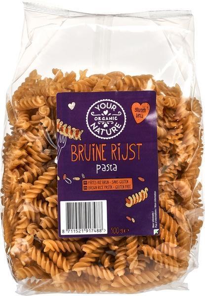 Bruine rijst pasta (500g)