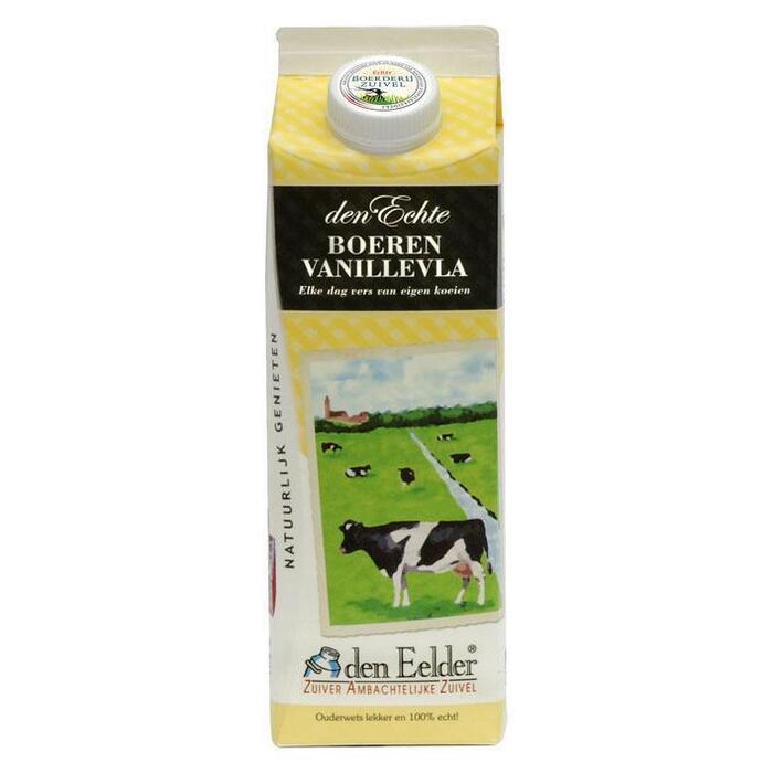 Boeren vanillevla (1L)